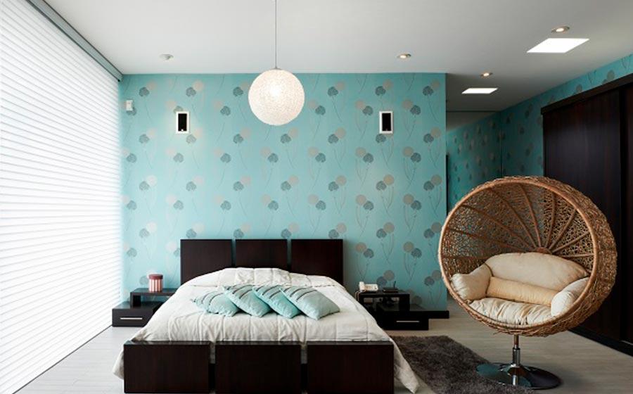 Modern Bedroom Background