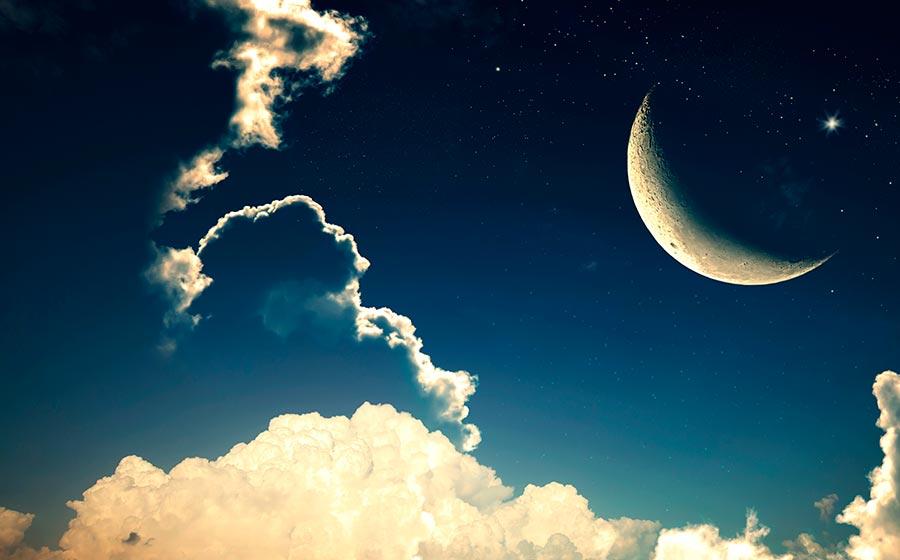 POEMAS SIDERALES ( Sol, Luna, Estrellas, Tierra, Naturaleza, Galaxias...) - Página 22 Lua-crescente-1