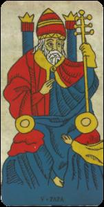 O Sacerdote Carta do Tarot