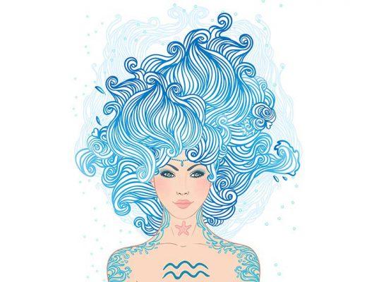 mulheres de aquário