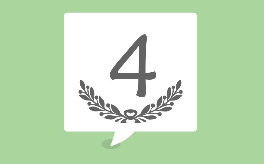 o número 4 e as suas influências numerológicas iquilibrio
