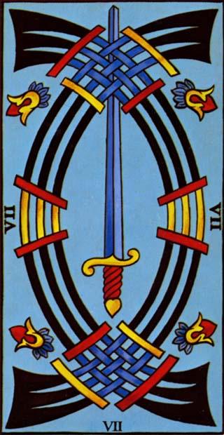 sete de espadas tarot