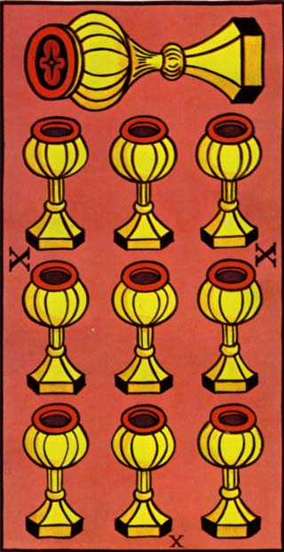 dez de copas tarot
