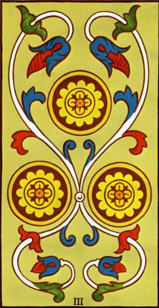 três de ouros tarot