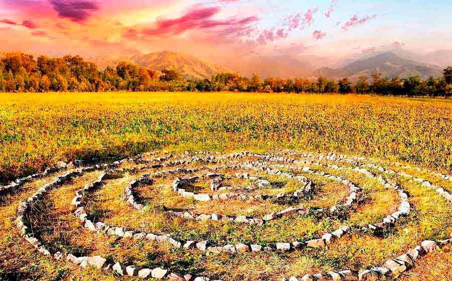 círculo sagrado wicca