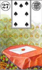 a carta baralho cigano