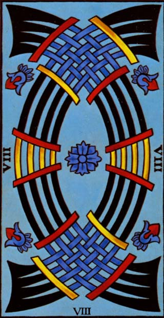 oito de espadas tarot