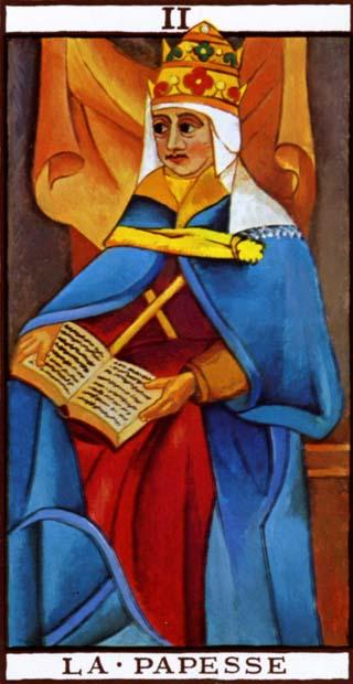 a papisa tarot