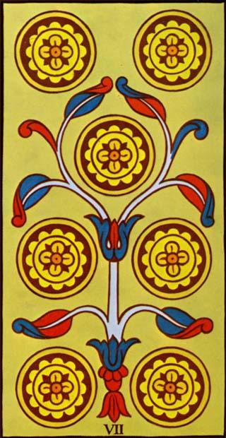 sete de ouros tarot