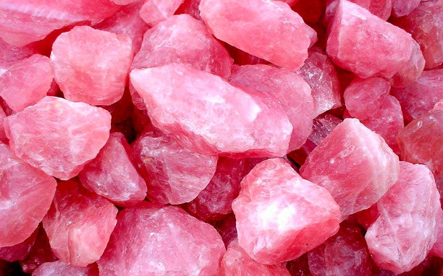 Quartzo Rosa a pedra do amor