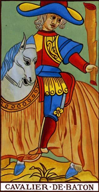 cavaleiro de paus tarot