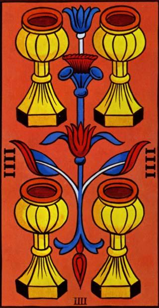 quatro de copas tarot