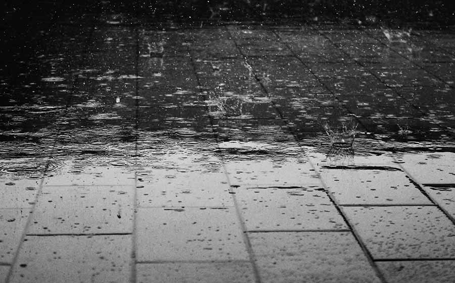 sonho com chuva