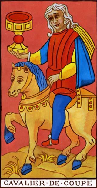 cavaleiro de copas tarot