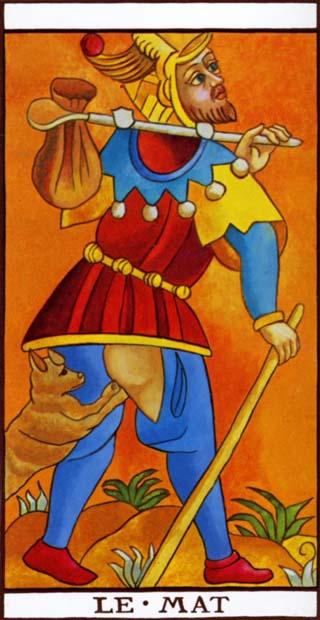 o louco tarot