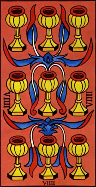 nove de copas tarot