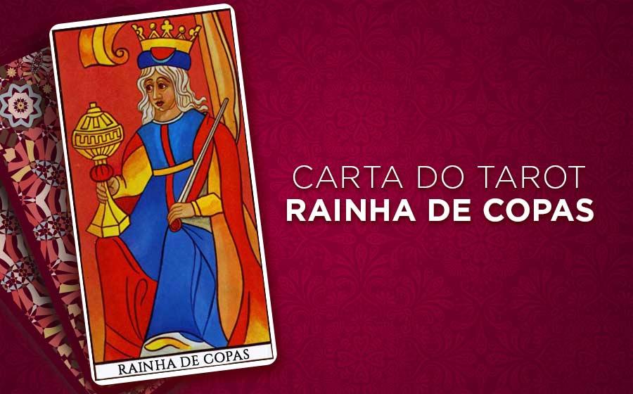 Rainha de Copas Tarot