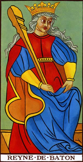 rainha de paus tarot