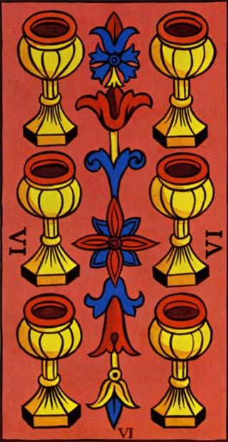 seis de copas tarot