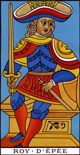 rei de espadas tarot