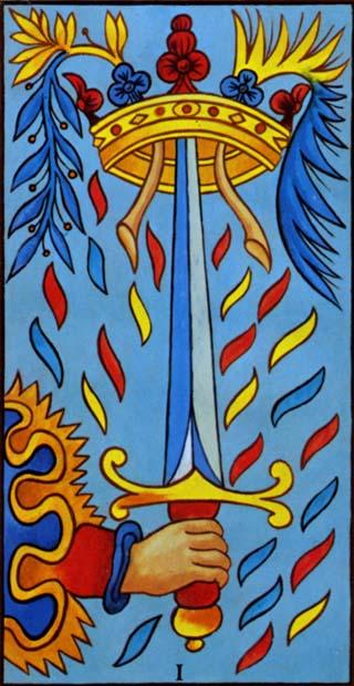 ás de espadas tarot