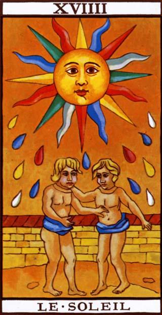 Resultado de imagem para o sol tarot