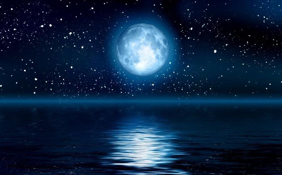 simpatia da lua azul