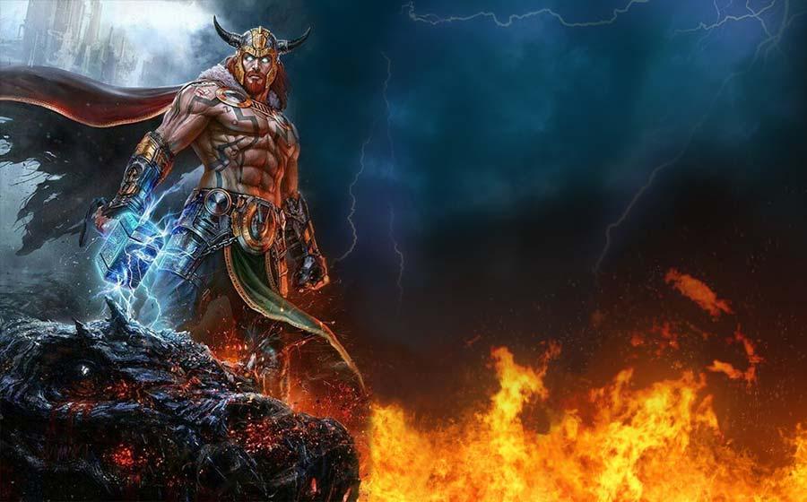 Thor - O Deus Nórdico Repleto de Poder e Força | iQuilibrio