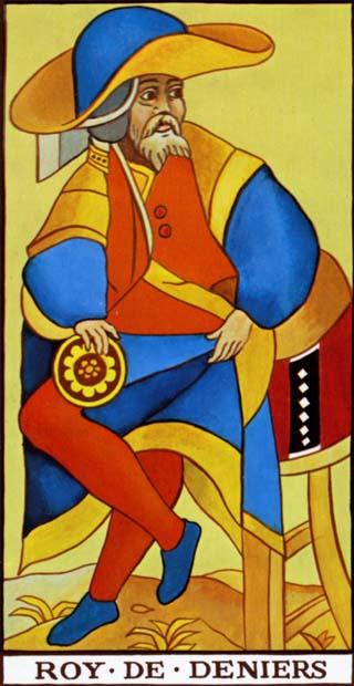 rei de ouros tarot