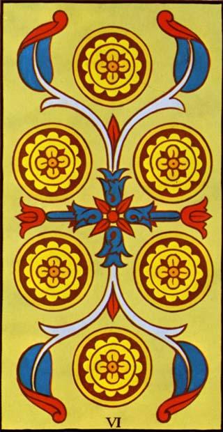 seis de ouros tarot