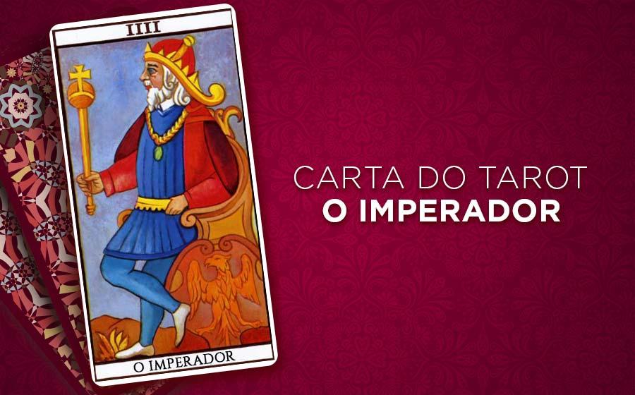 o imperador tarot