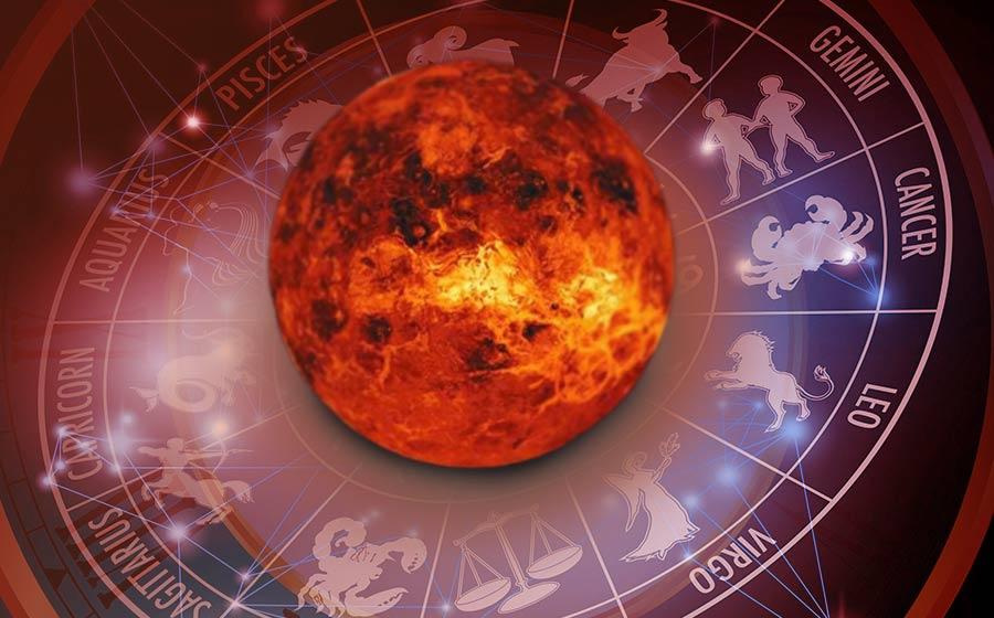 planeta Vênus e os signos