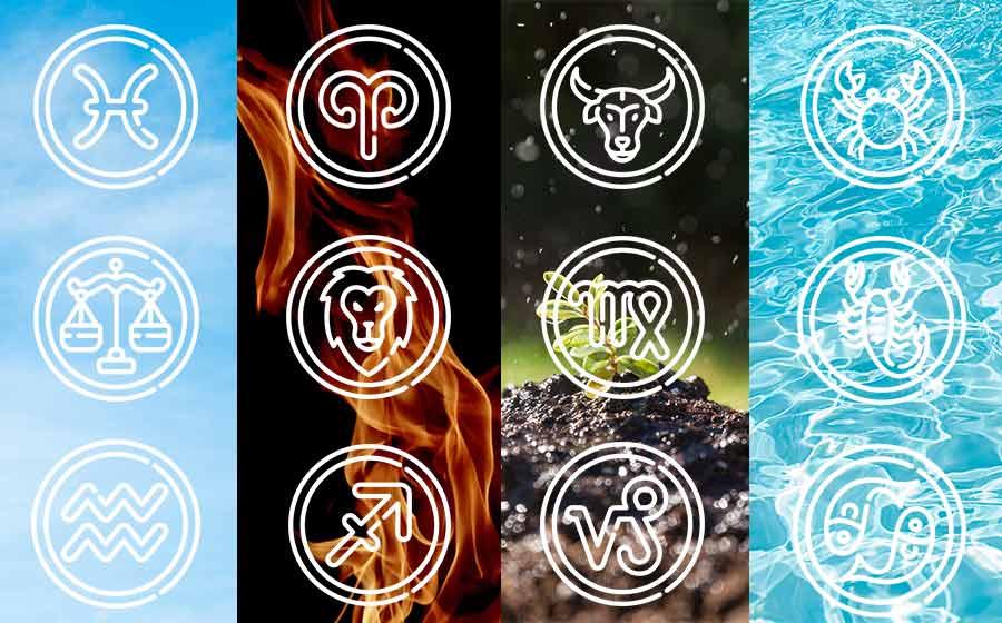 elementos dos signos