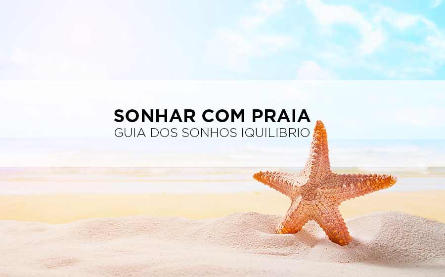 sonho com praia
