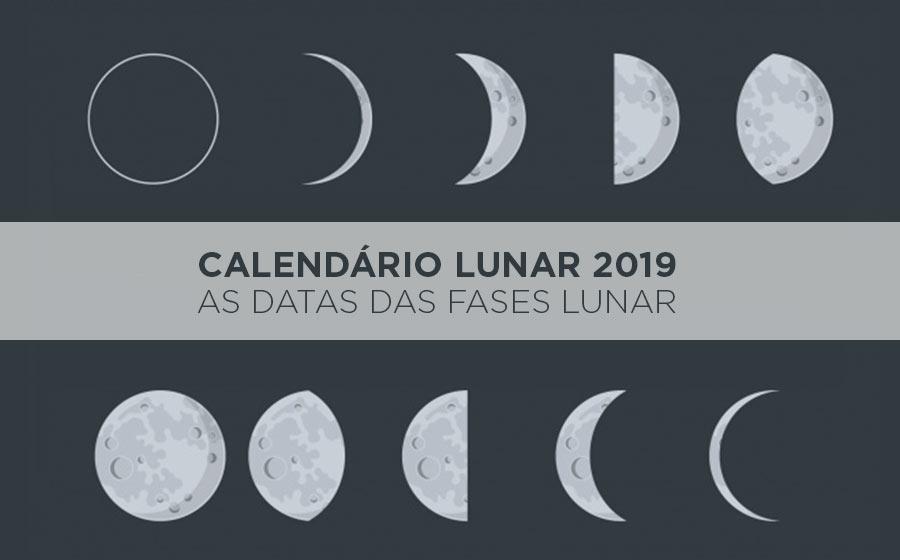 calendário da lua 2019