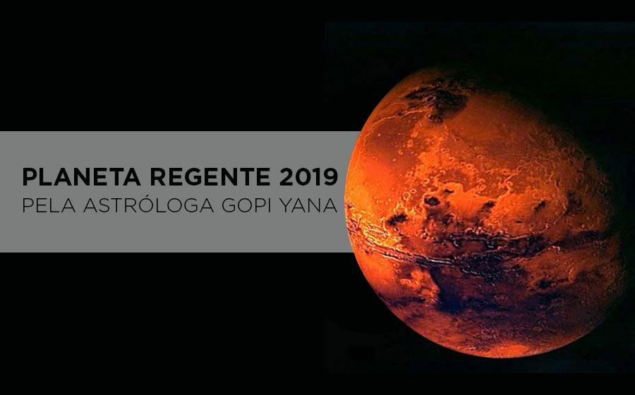 planeta regente do ano de 2019
