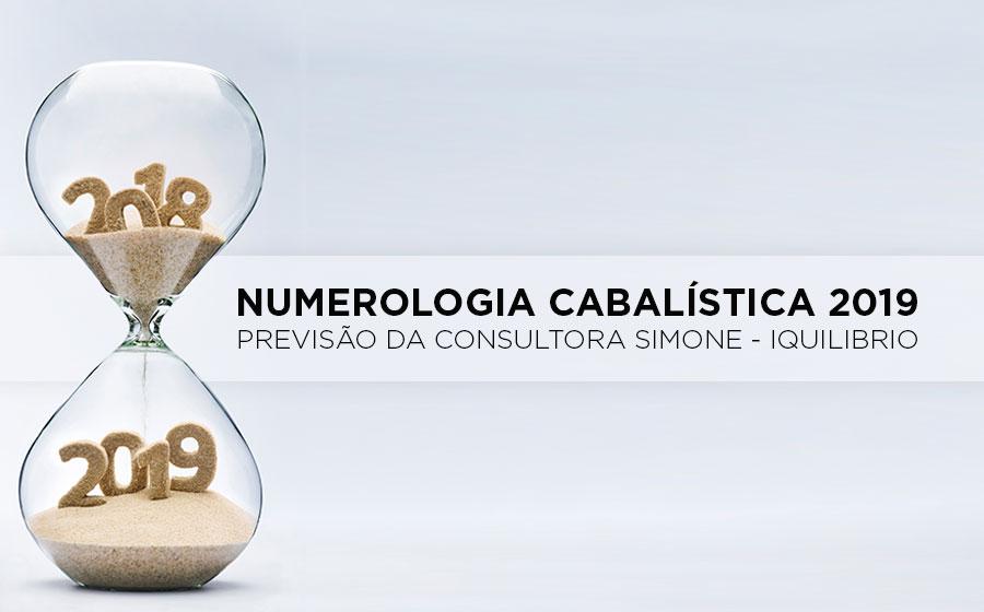previsão da numerologia cabalística 2019
