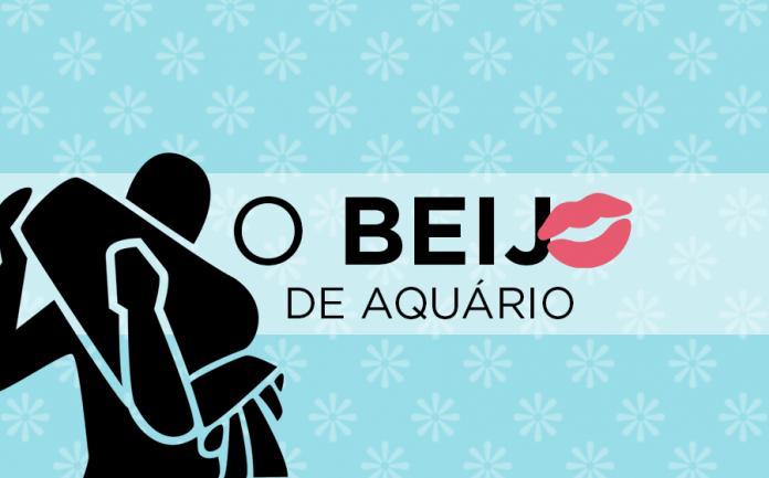 beijo do signo de aquário
