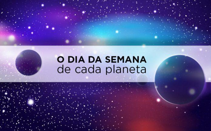dia da semana e planeta