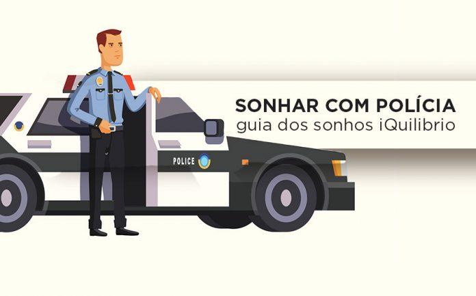 sonho com policial