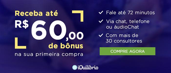 Iquilibrio - Bonus de 60 reais